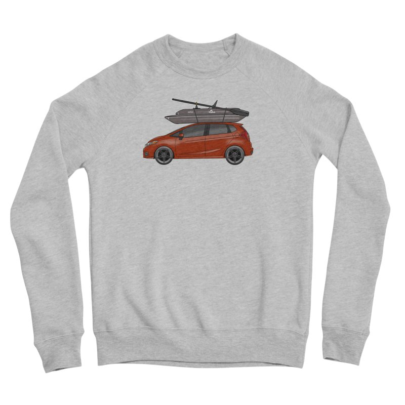 Honda Gigbob Men's Sponge Fleece Sweatshirt by Boneyard Studio - Boneyard Fly Gear