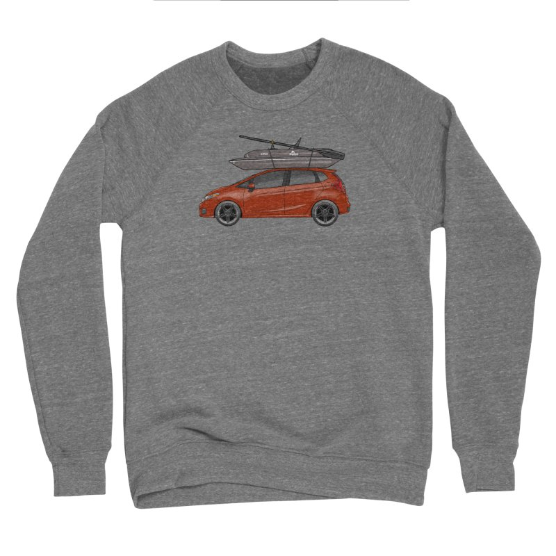 Honda Gigbob Men's Sponge Fleece Sweatshirt by Boneyard Studio - Boneyard Fly Gear