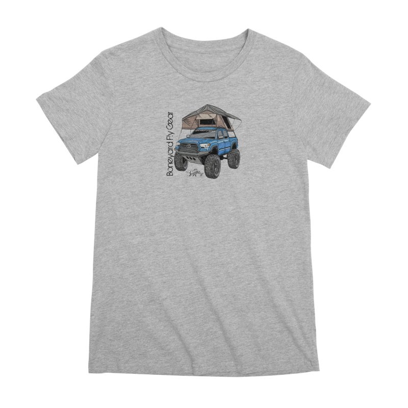 Toyota Tacoma Overlander Women's Premium T-Shirt by Boneyard Studio - Boneyard Fly Gear