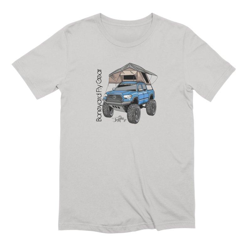 Toyota Tacoma Overlander Men's Extra Soft T-Shirt by Boneyard Studio - Boneyard Fly Gear