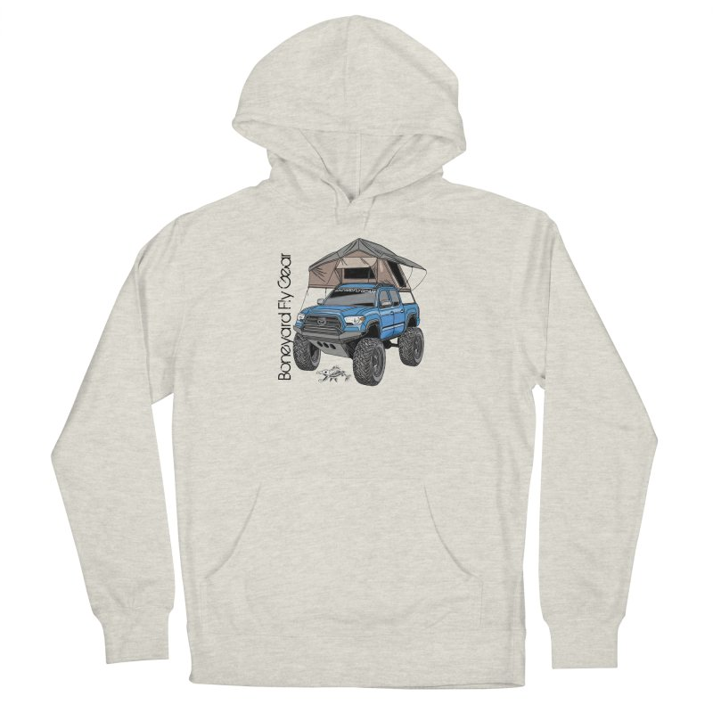 Toyota Tacoma Overlander Women's French Terry Pullover Hoody by Boneyard Studio - Boneyard Fly Gear