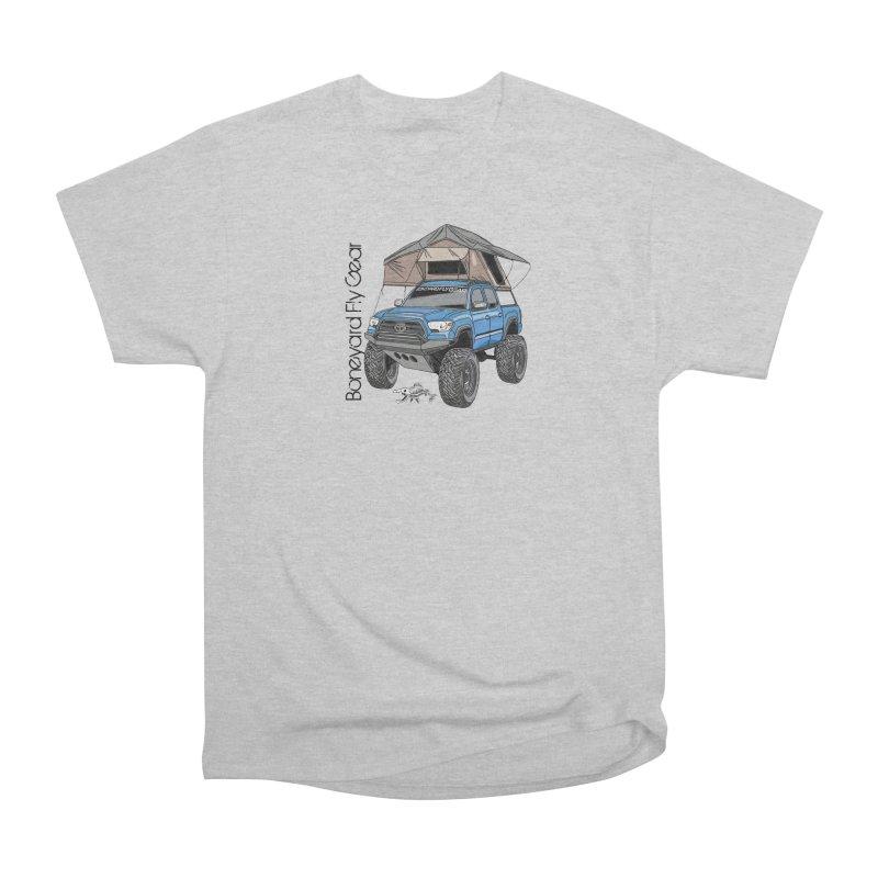 Toyota Tacoma Overlander Women's Heavyweight Unisex T-Shirt by Boneyard Studio - Boneyard Fly Gear