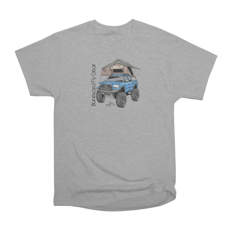 Toyota Tacoma Overlander Men's Heavyweight T-Shirt by Boneyard Studio - Boneyard Fly Gear