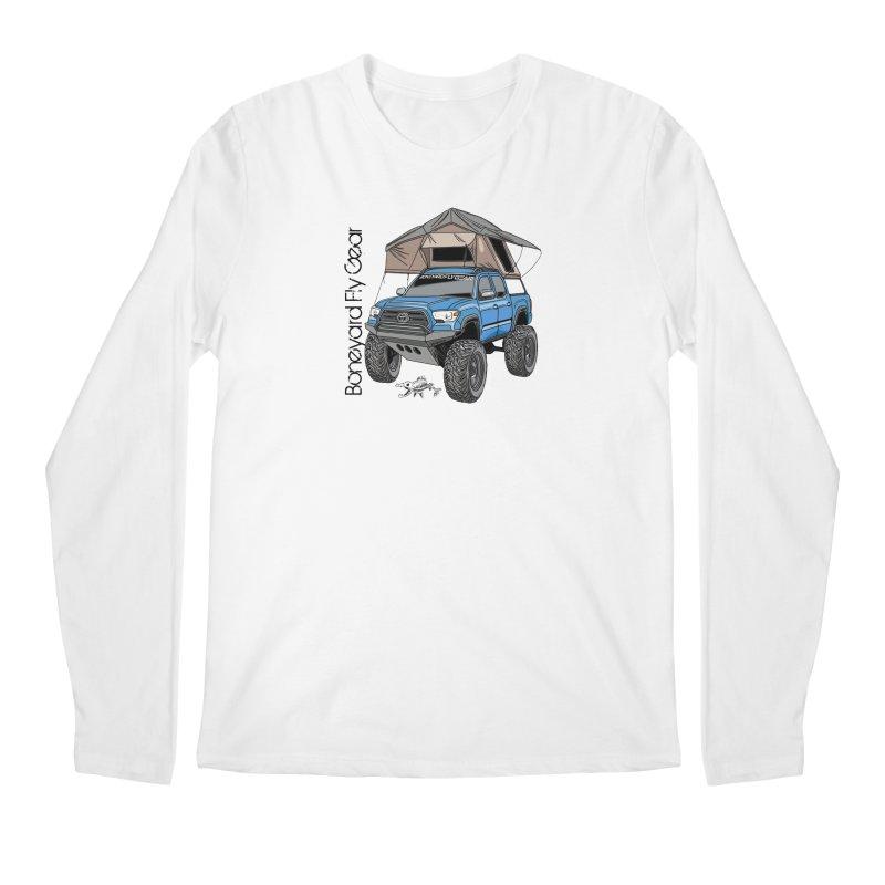 Toyota Tacoma Overlander Men's Regular Longsleeve T-Shirt by Boneyard Studio - Boneyard Fly Gear