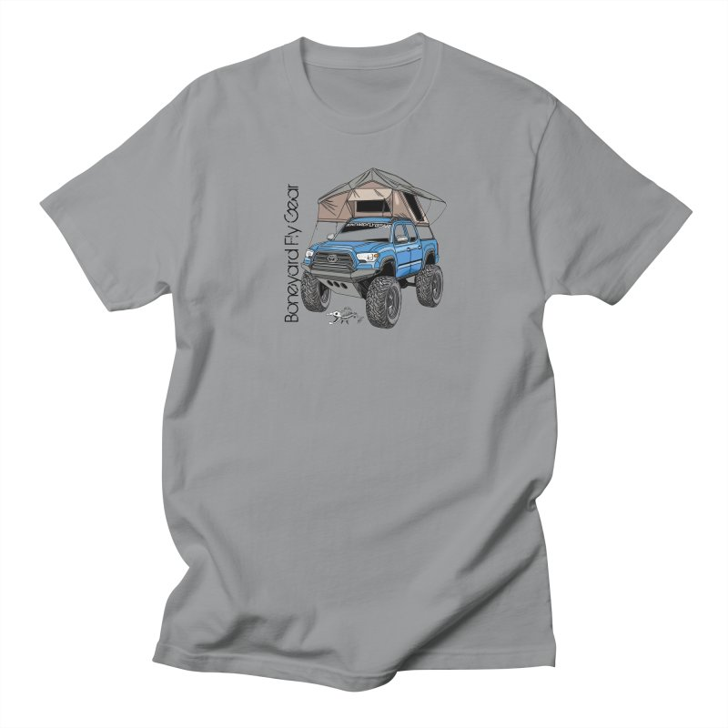 Toyota Tacoma Overlander Women's Regular Unisex T-Shirt by Boneyard Studio - Boneyard Fly Gear