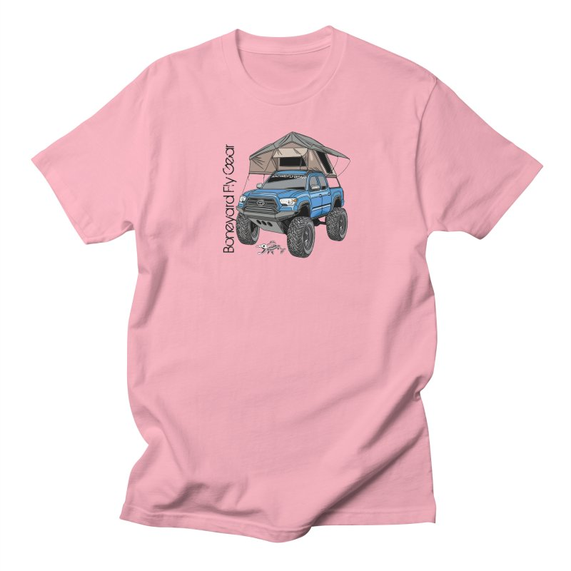 Toyota Tacoma Overlander Women's Regular Unisex T-Shirt by Boneyard Studio - Boneyard Fly Gear