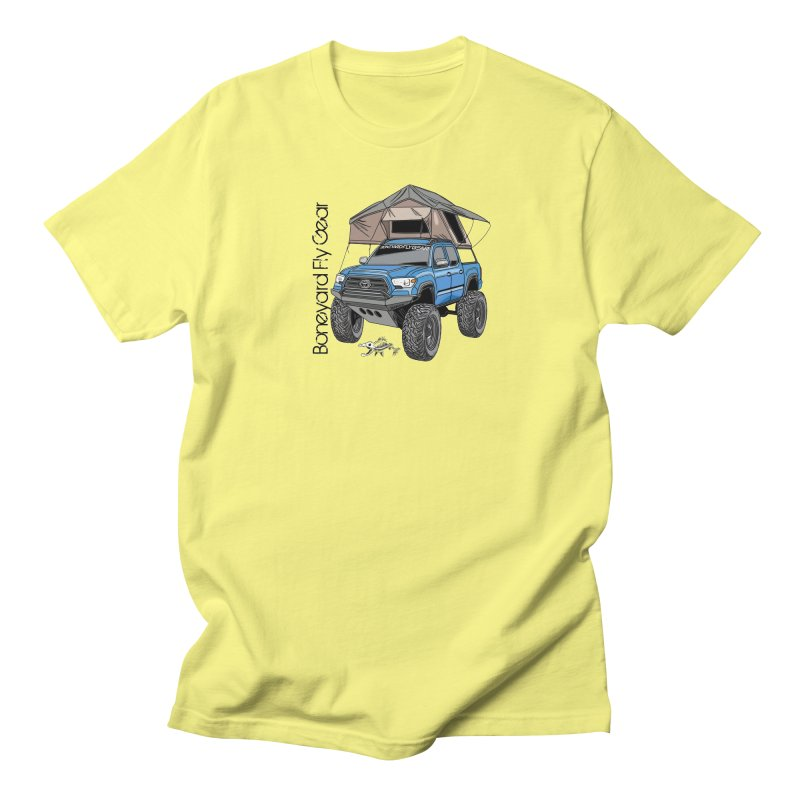 Toyota Tacoma Overlander Men's T-Shirt by Boneyard Studio - Boneyard Fly Gear