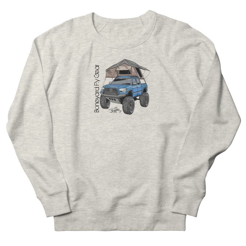 Toyota Tacoma Overlander Women's Sweatshirt by Boneyard Studio - Boneyard Fly Gear