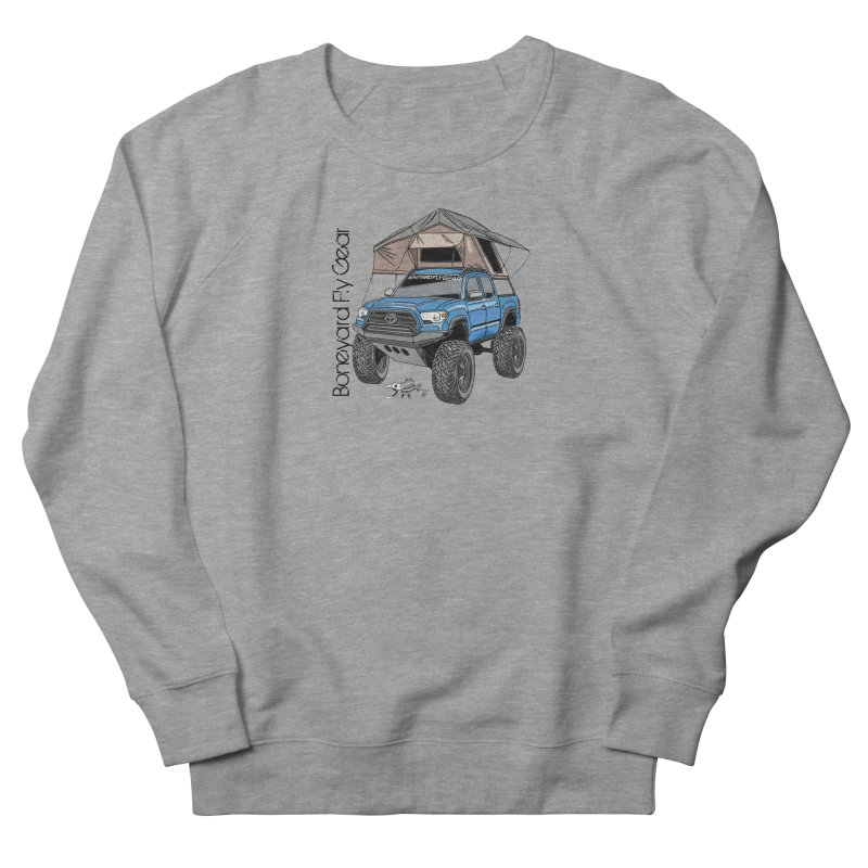 Toyota Tacoma Overlander Men's French Terry Sweatshirt by Boneyard Studio - Boneyard Fly Gear