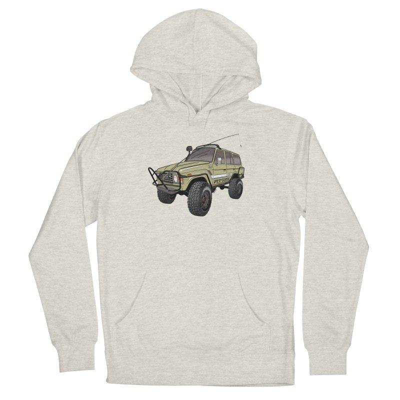 Toyota FJ60 Adventure Rig Men's Pullover Hoody by Boneyard Studio - Boneyard Fly Gear