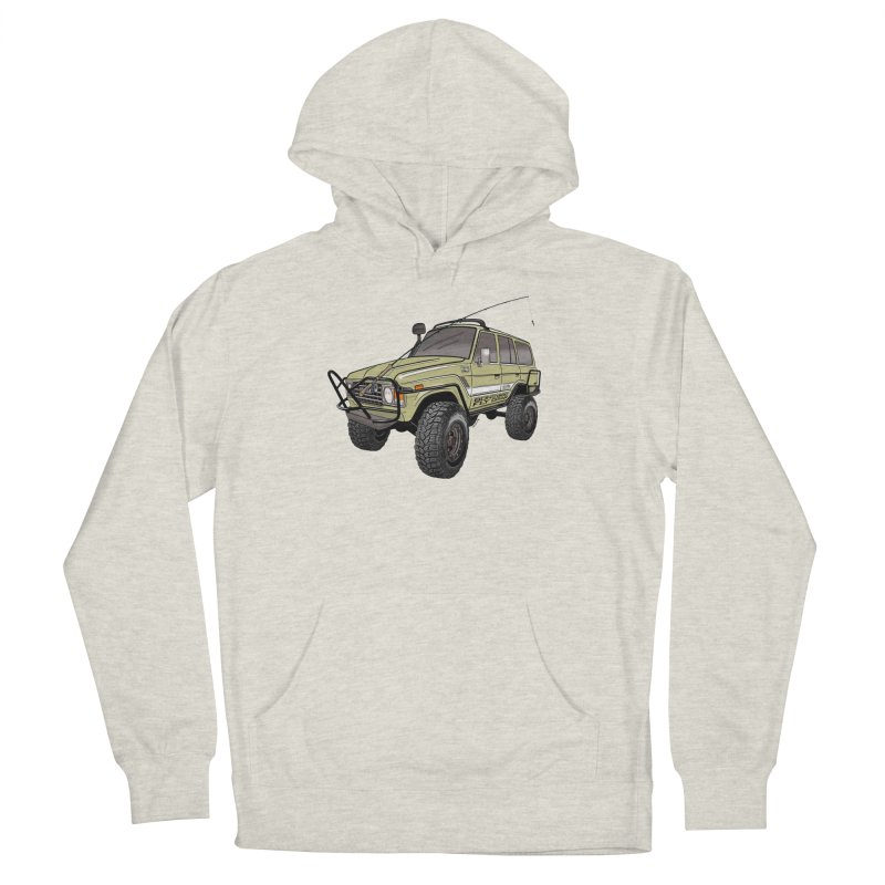 Toyota FJ60 Adventure Rig Men's Pullover Hoody by Boneyard Studio - Boneyard Fly Gear