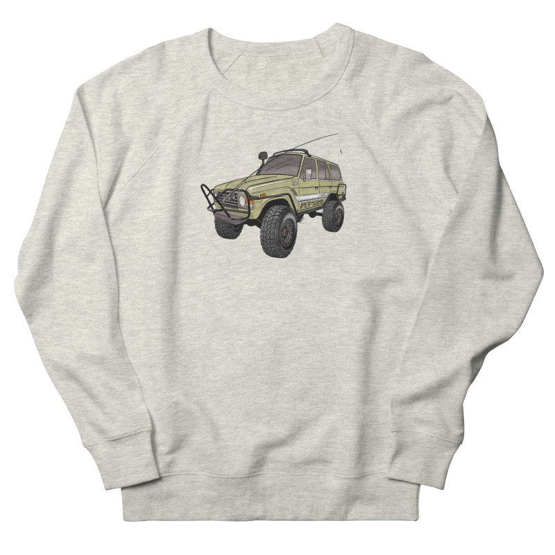 Toyota FJ60 Adventure Rig Men's Sweatshirt by Boneyard Studio - Boneyard Fly Gear