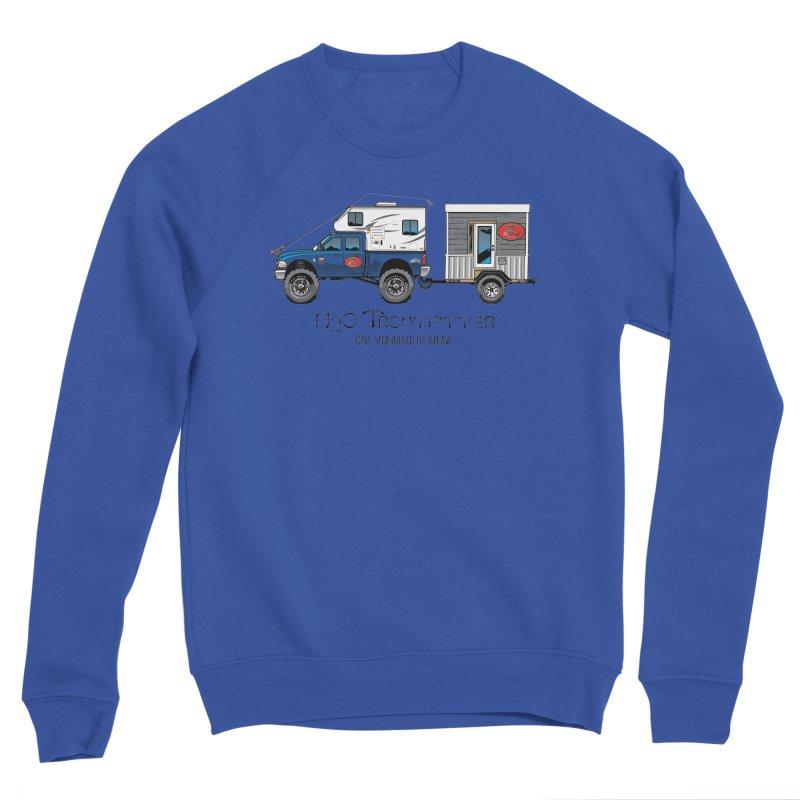 H2O Troutfitter Traveling Fly Shop Men's Sponge Fleece Sweatshirt by Boneyard Studio - Boneyard Fly Gear