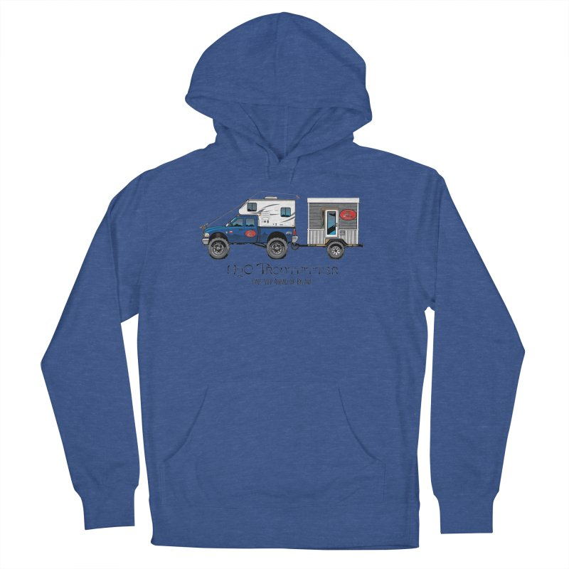 H2O Troutfitter Traveling Fly Shop Men's Pullover Hoody by Boneyard Studio - Boneyard Fly Gear