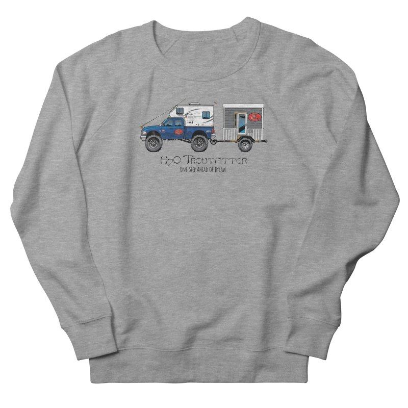 H2O Troutfitter Traveling Fly Shop Women's Sweatshirt by Boneyard Studio - Boneyard Fly Gear
