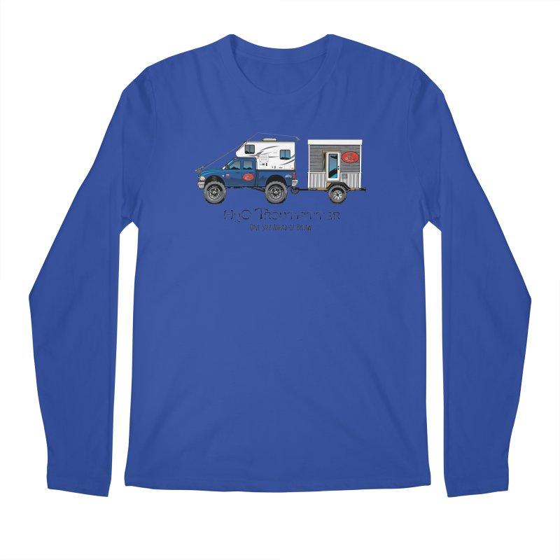 H2O Troutfitter Traveling Fly Shop Men's Regular Longsleeve T-Shirt by Boneyard Studio - Boneyard Fly Gear