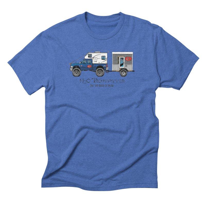 H2O Troutfitter Traveling Fly Shop Men's T-Shirt by Boneyard Studio - Boneyard Fly Gear