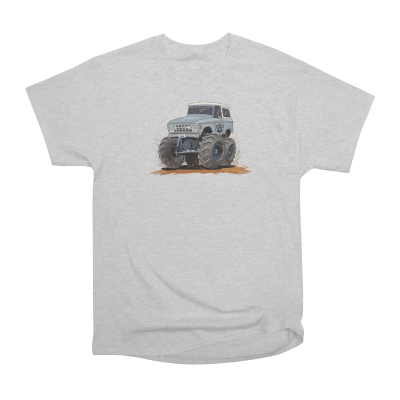 Smokey Brew Bronco Men's T-Shirt by Boneyard Studio - Boneyard Fly Gear