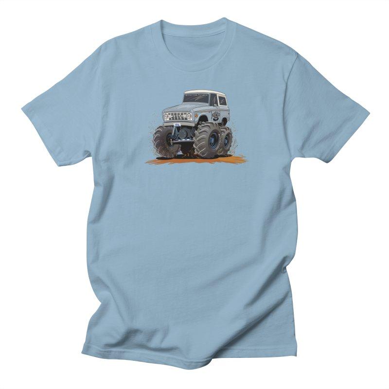 Smokey Brew Bronco Men's T-Shirt by Boneyard Studio - Boneyard Fly Gear