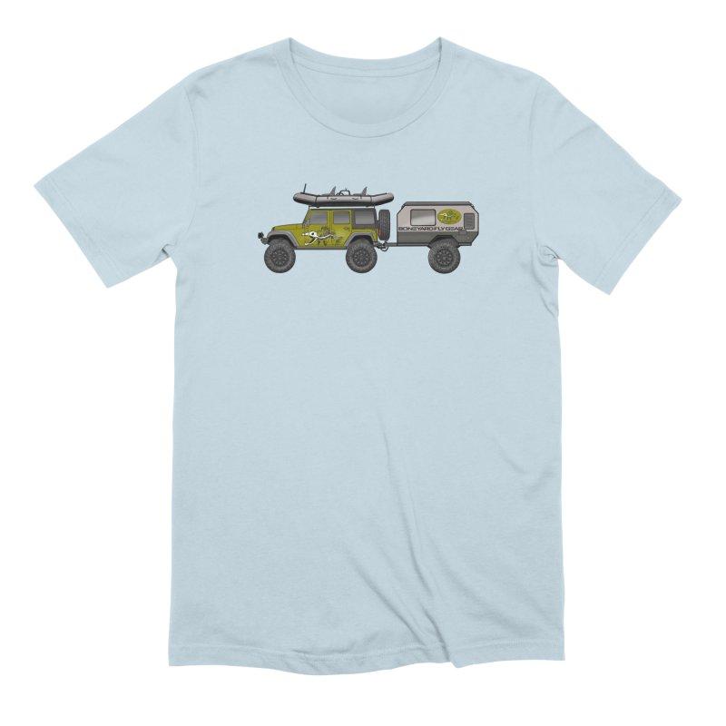 Jeep JK Adventure Rig Men's Extra Soft T-Shirt by Boneyard Studio - Boneyard Fly Gear