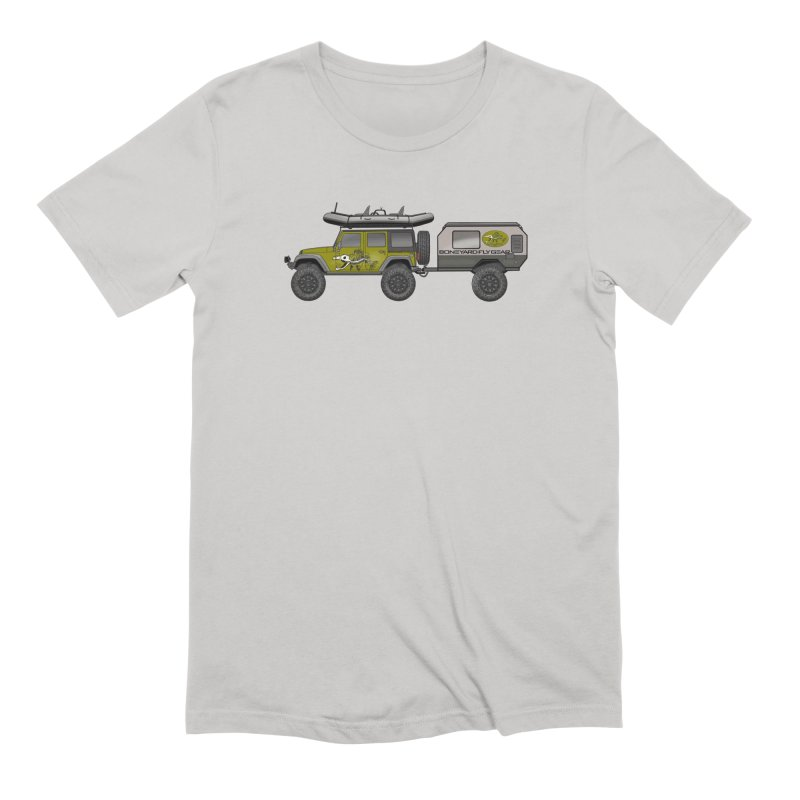 Jeep JK Adventure Rig Men's Extra Soft T-Shirt by Boneyard Studio - Boneyard Fly Gear