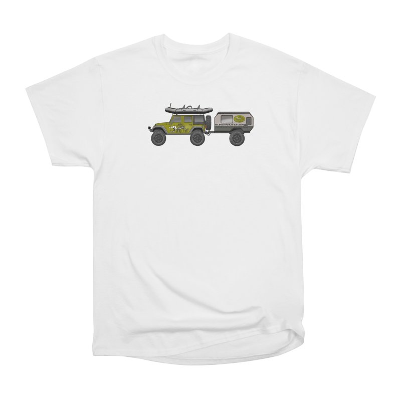 Jeep JK Adventure Rig Men's T-Shirt by Boneyard Studio - Boneyard Fly Gear