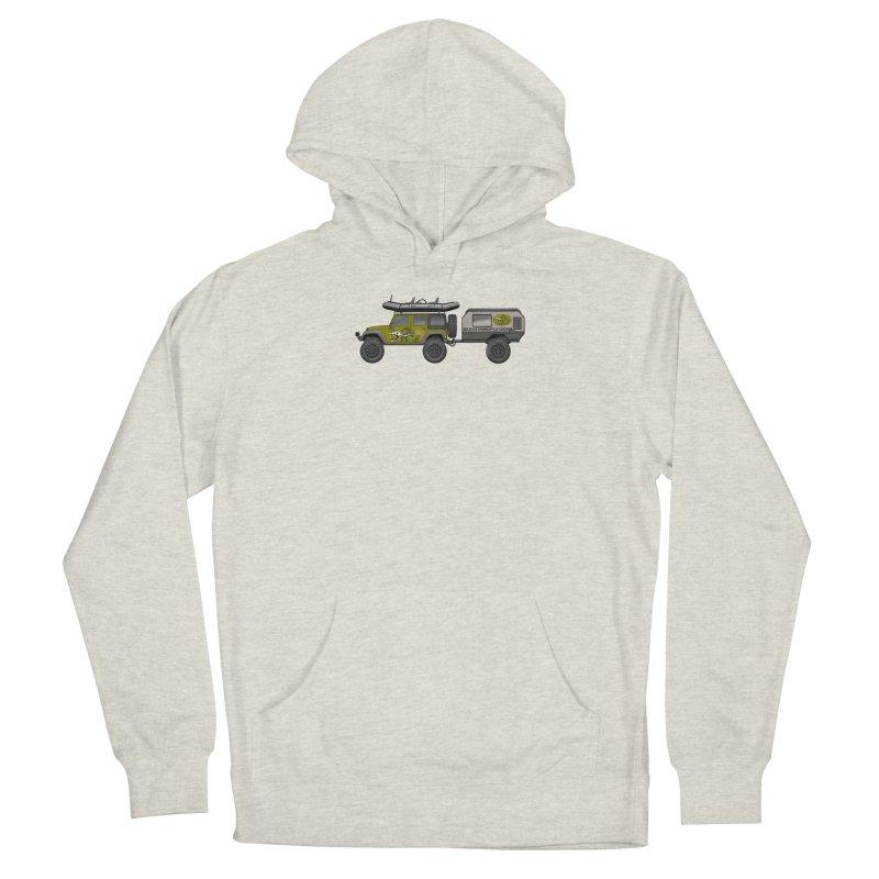 Jeep JK Adventure Rig Men's Pullover Hoody by Boneyard Studio - Boneyard Fly Gear