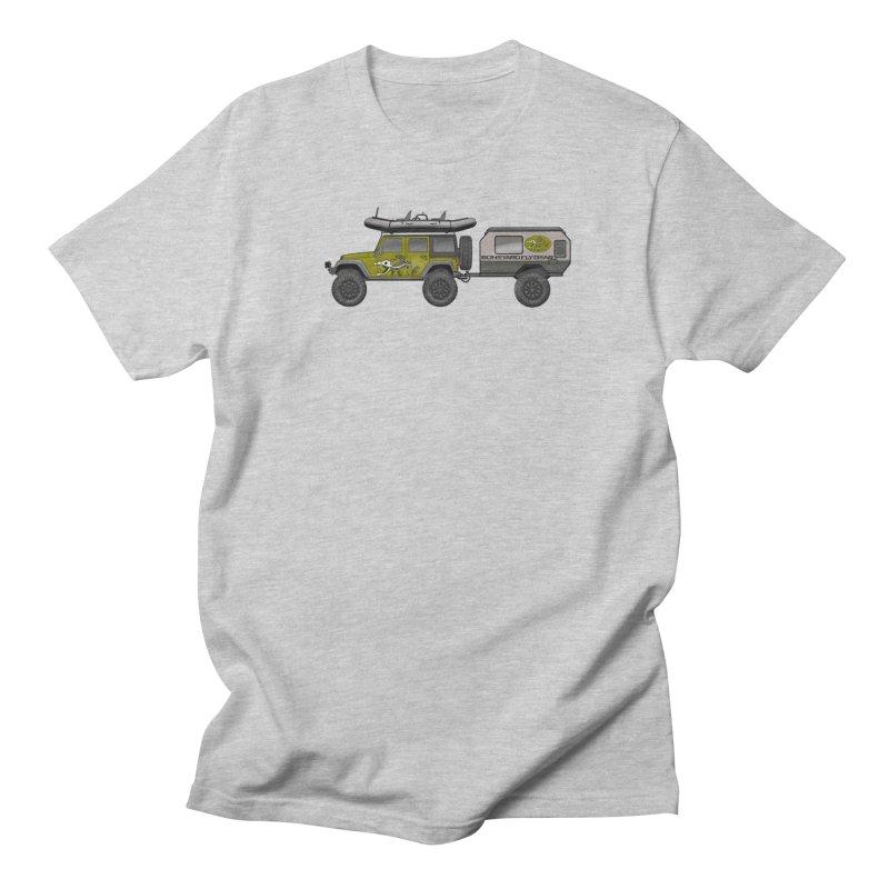 Jeep JK Adventure Rig Men's T-Shirt by Boneyard Studio - Boneyard Fly Gear