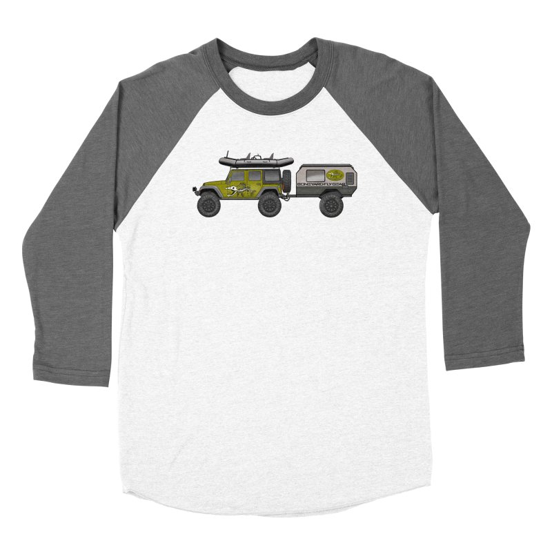 Jeep JK Adventure Rig Women's Longsleeve T-Shirt by Boneyard Studio - Boneyard Fly Gear