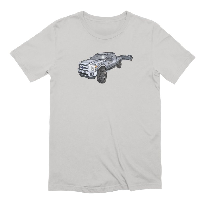 Ford F-250 Adventure Rig Men's Extra Soft T-Shirt by Boneyard Studio - Boneyard Fly Gear