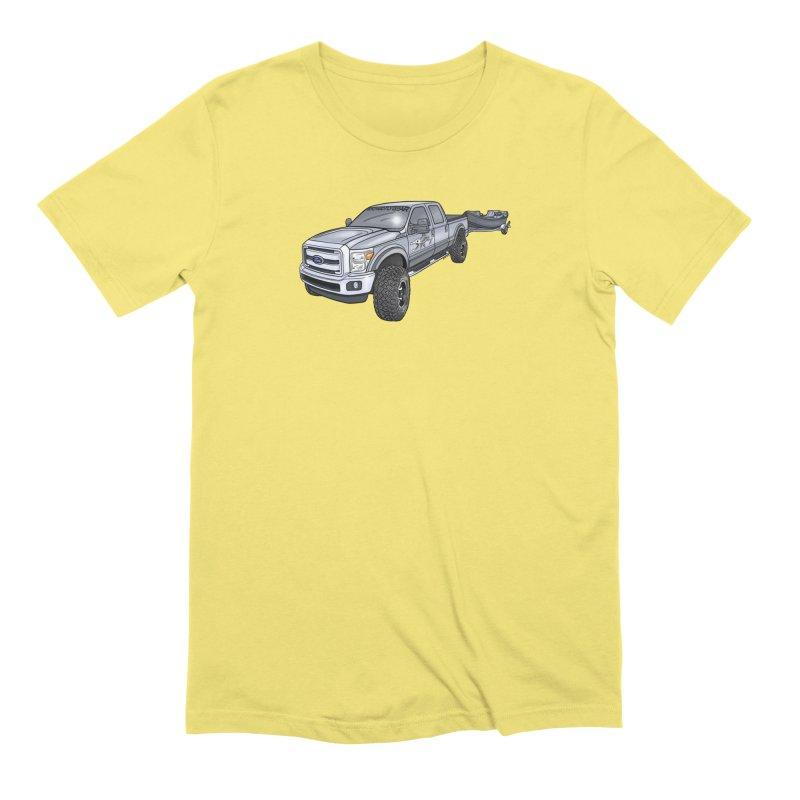 Ford F-250 Adventure Rig Men's T-Shirt by Boneyard Studio - Boneyard Fly Gear