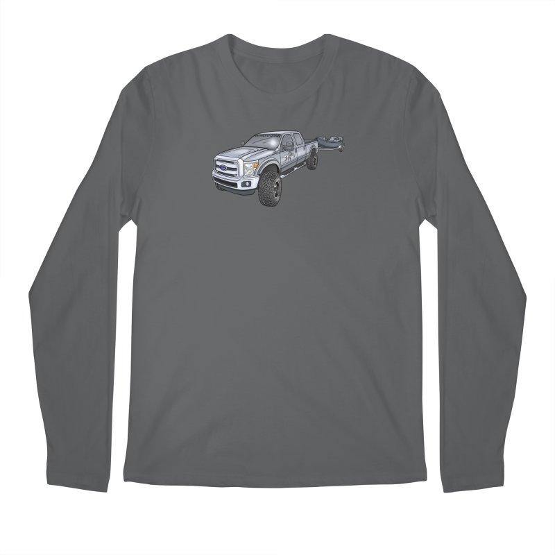 Ford F-250 Adventure Rig Men's Longsleeve T-Shirt by Boneyard Studio - Boneyard Fly Gear