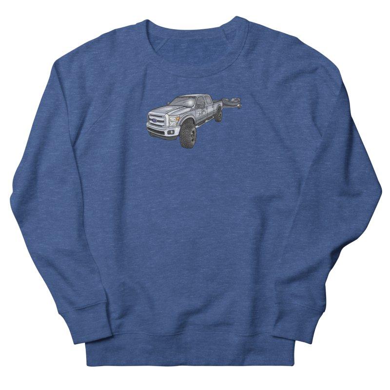 Ford F-250 Adventure Rig Men's Sweatshirt by Boneyard Studio - Boneyard Fly Gear