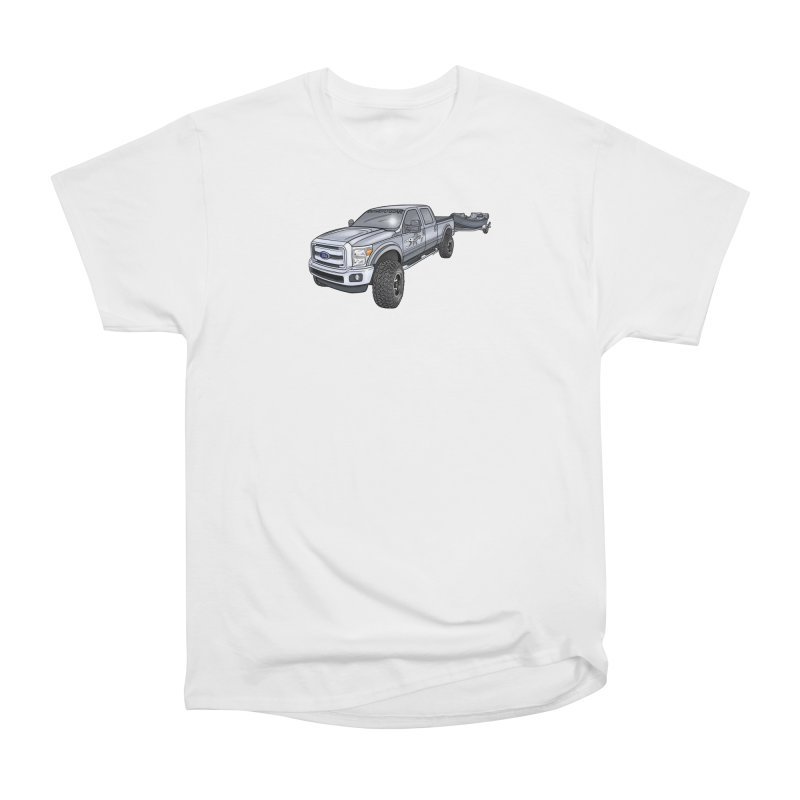 Ford F-250 Adventure Rig Men's Heavyweight T-Shirt by Boneyard Studio - Boneyard Fly Gear