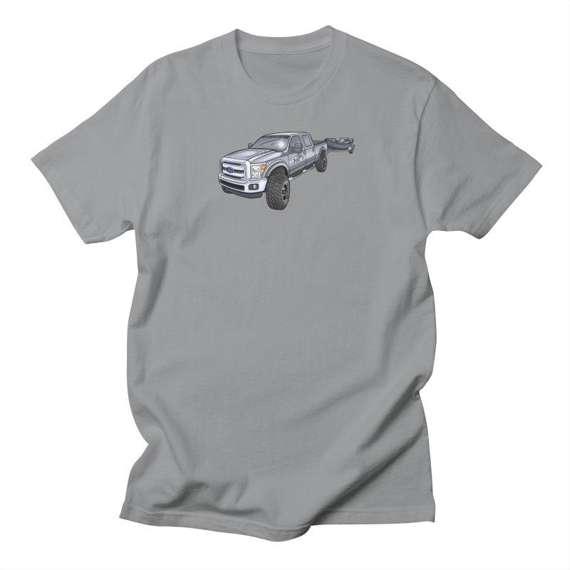 Ford F-250 Adventure Rig Men's Regular T-Shirt by Boneyard Studio - Boneyard Fly Gear