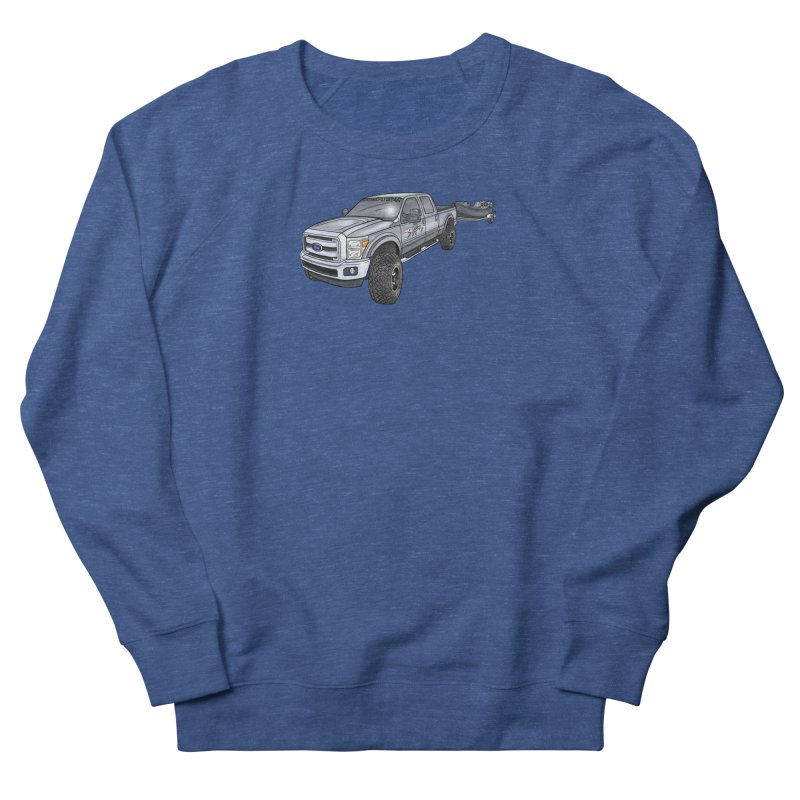 Ford F-250 Adventure Rig Men's Sweatshirt by Boneyard Studio - Boneyard Fly Gear