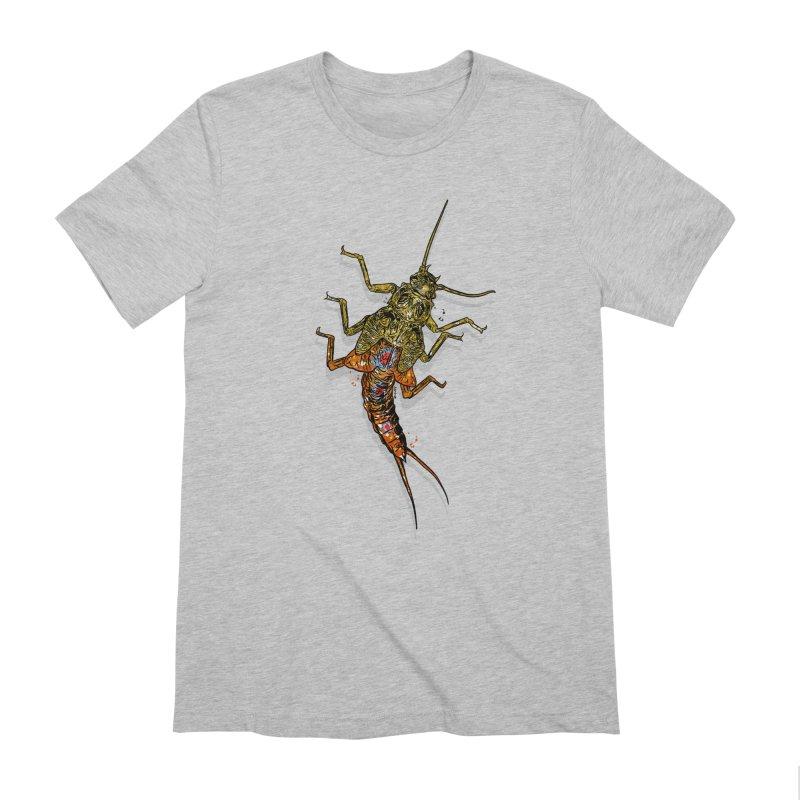 Brook Stone Men's Extra Soft T-Shirt by Boneyard Studio - Boneyard Fly Gear