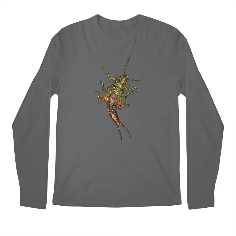 Brook Stone Men's Longsleeve T-Shirt by Boneyard Studio - Boneyard Fly Gear