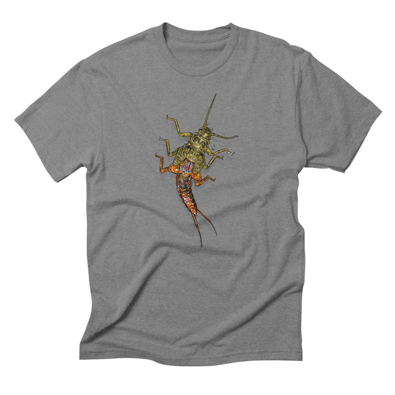 Brook Stone in Men's Triblend T-Shirt Grey Triblend by Boneyard Studio - Boneyard Fly Gear