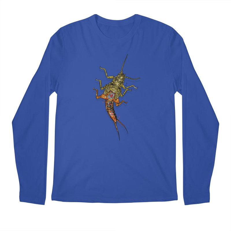 Brook Stone Men's Regular Longsleeve T-Shirt by Boneyard Studio - Boneyard Fly Gear