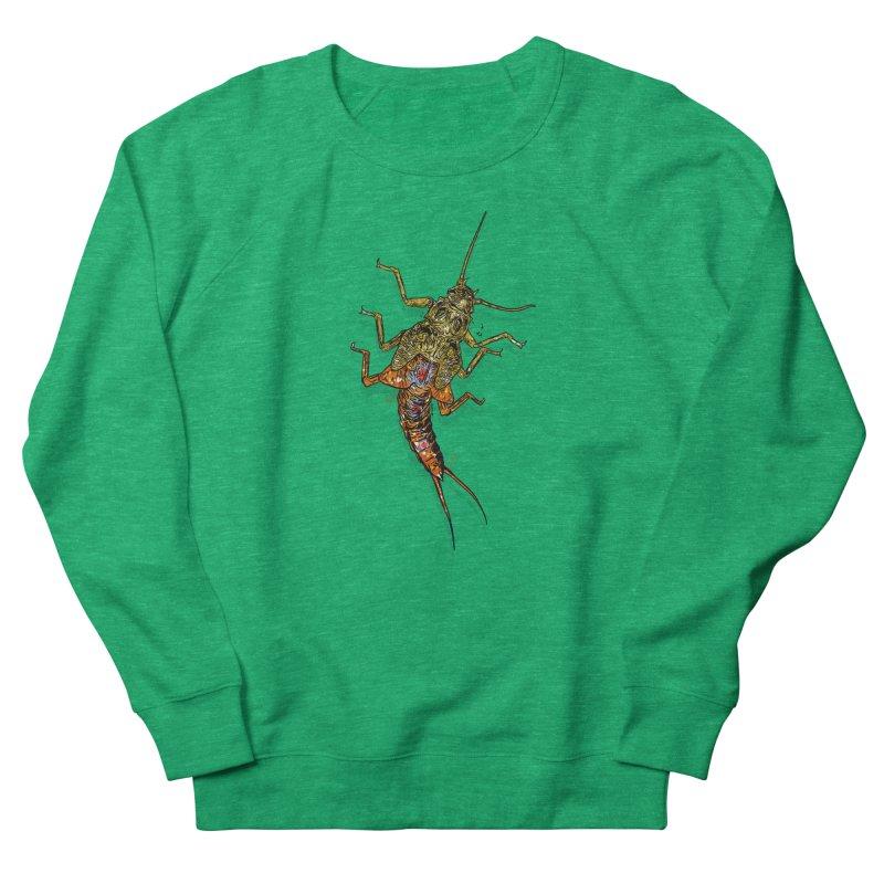 Brook Stone Men's French Terry Sweatshirt by Boneyard Studio - Boneyard Fly Gear