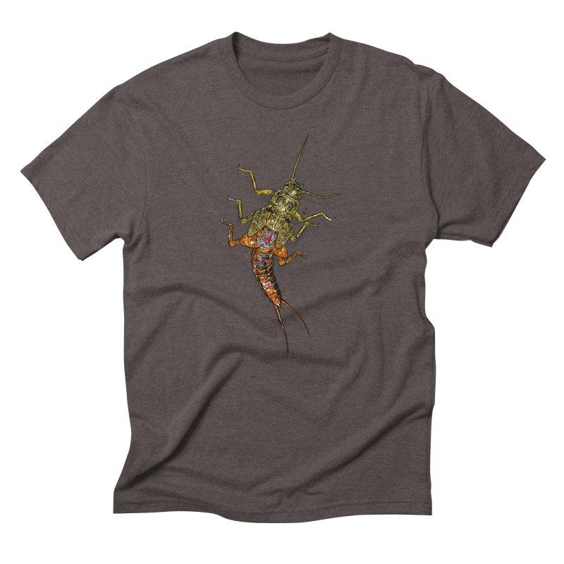 Brook Stone Men's Triblend T-Shirt by Boneyard Studio - Boneyard Fly Gear