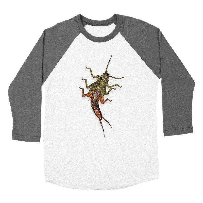 Brook Stone Men's Baseball Triblend Longsleeve T-Shirt by Boneyard Studio - Boneyard Fly Gear