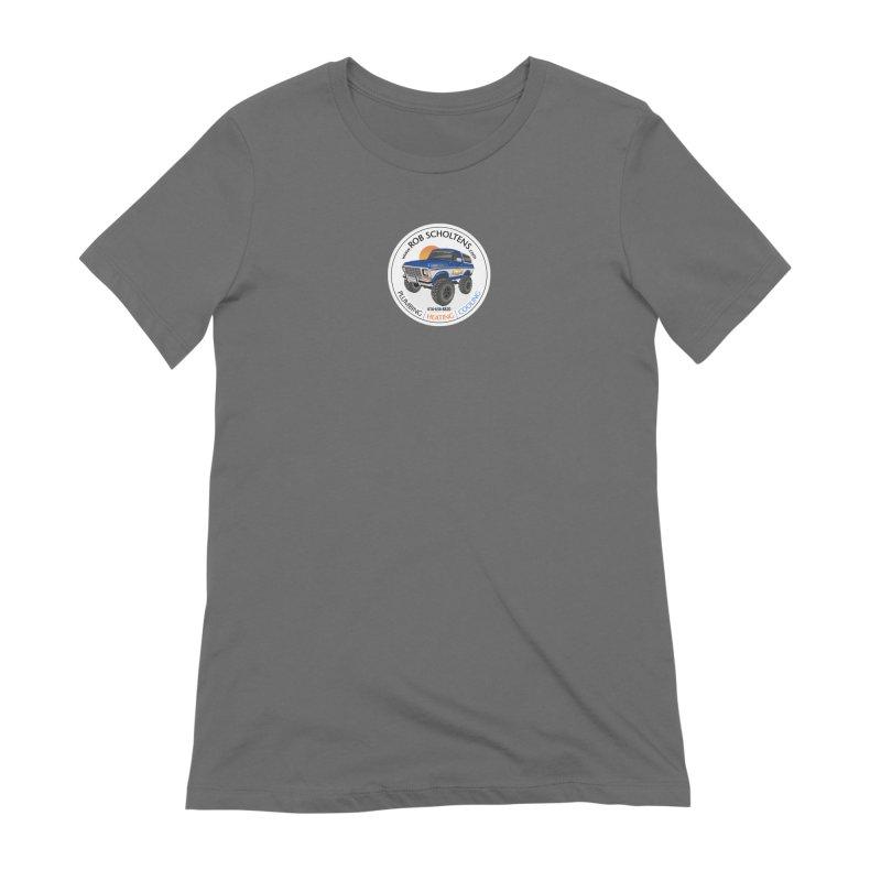 RS Bronco Women's Extra Soft T-Shirt by Boneyard Studio - Boneyard Fly Gear