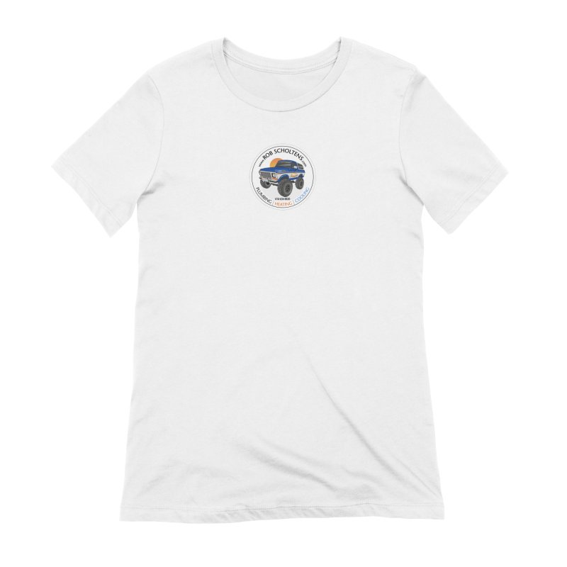 RS Bronco Women's Extra Soft T-Shirt by Boneyard Studio - Boneyard Fly Gear