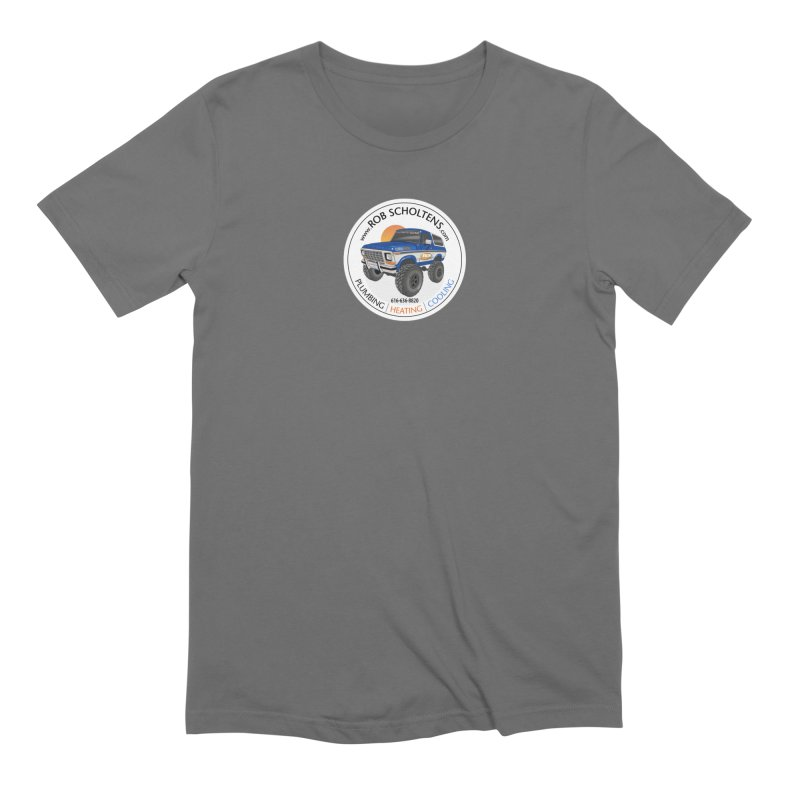 RS Bronco Men's Extra Soft T-Shirt by Boneyard Studio - Boneyard Fly Gear