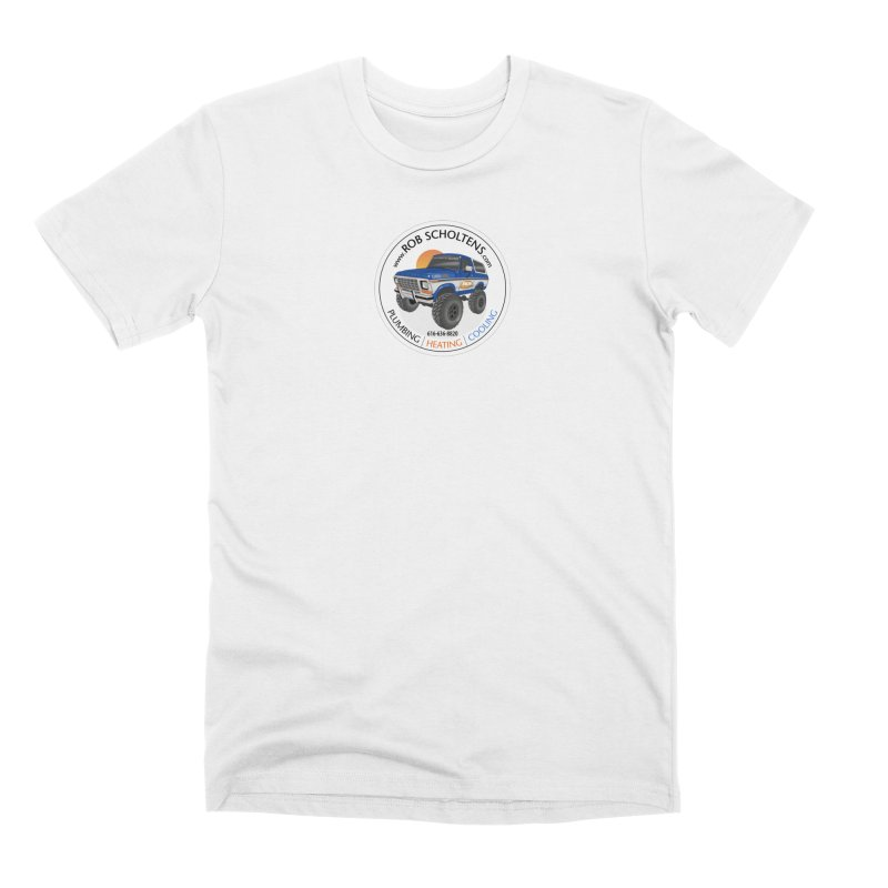 RS Bronco Men's Premium T-Shirt by Boneyard Studio - Boneyard Fly Gear