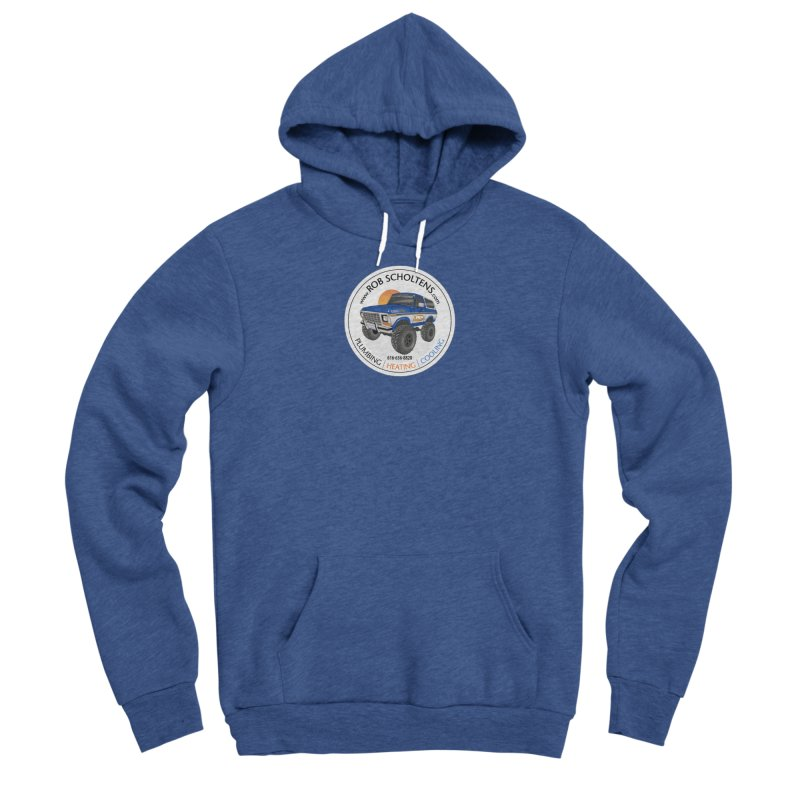 RS Bronco Men's Sponge Fleece Pullover Hoody by Boneyard Studio - Boneyard Fly Gear