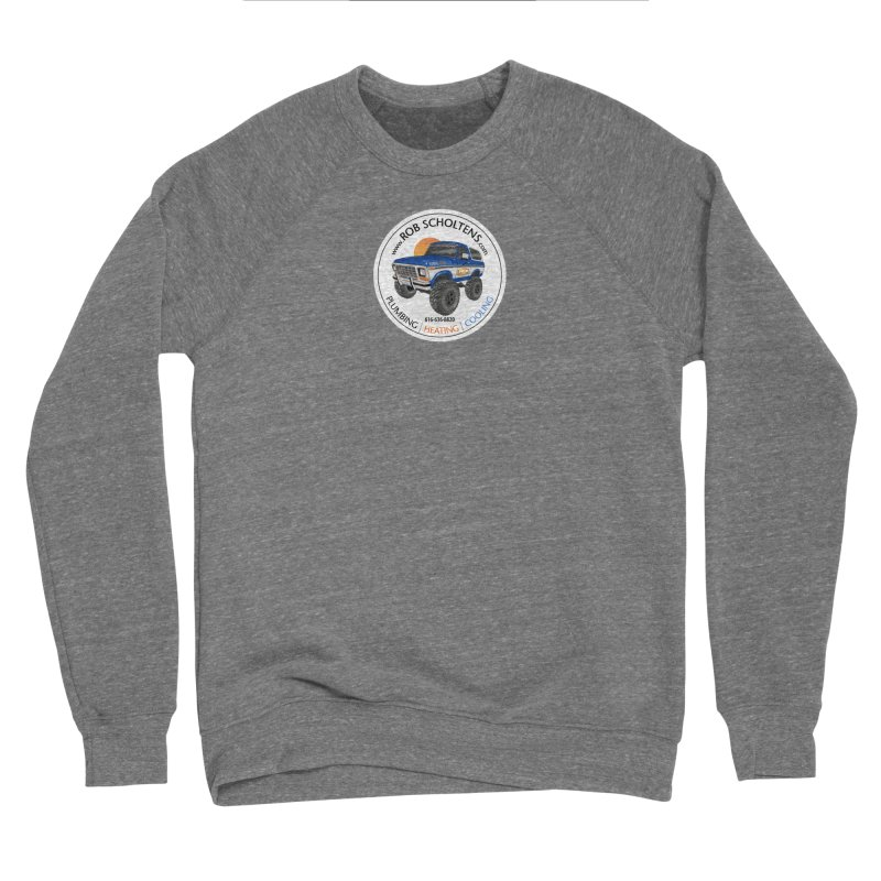 RS Bronco Men's Sponge Fleece Sweatshirt by Boneyard Studio - Boneyard Fly Gear