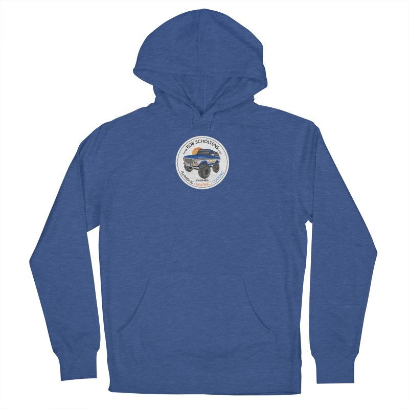 RS Bronco Men's French Terry Pullover Hoody by Boneyard Studio - Boneyard Fly Gear